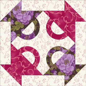 Fruit Basket Quilt Block Pattern