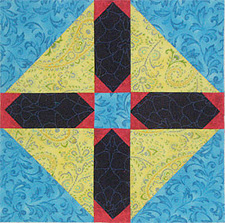 Goshen Star Quilt Block Pattern