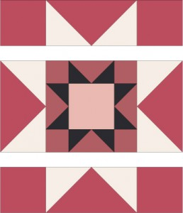 Rising Star Quilt Block Pattern