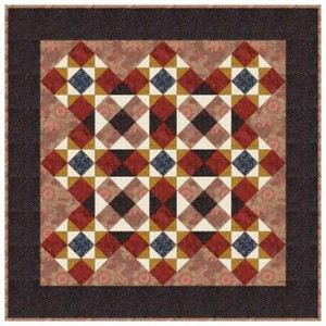 Ohio Star Quilt Pattern