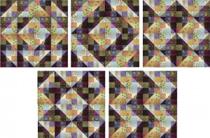 Nine Patch Furrows Quilts